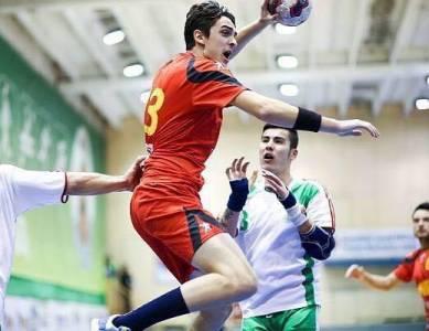 Rares Bursuc in meciul contra Bulgariei