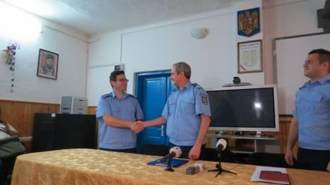Mr. Cătălin RESMERIŢĂ şi col. Sorin GHERMAN