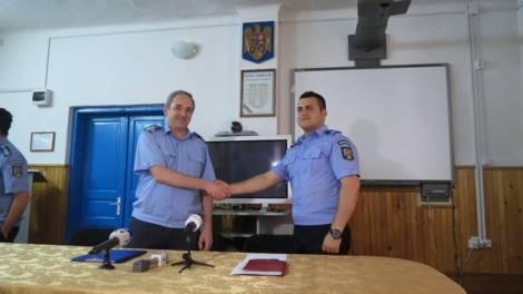 col. Sorin GHERMAN şi lt. Marius Mihai GĂMĂNUŢ
