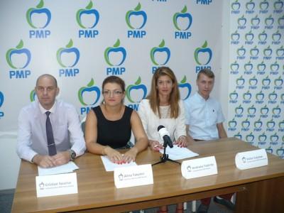 4 tineri de la PMP