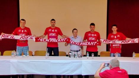 Robert Tutea, Lucian Tofan, Constantin Nita, Dragos    Raileani si Dan Florea (de la stanga, la dreapta)