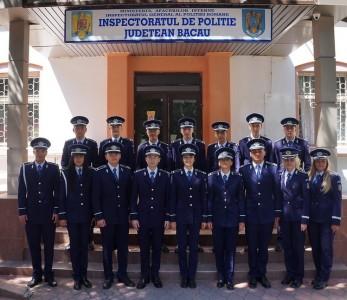 absolventi  incadrati al IPJ Bacau