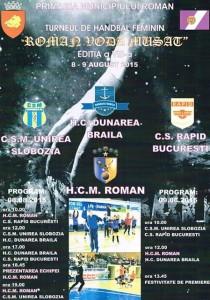roman cupa handbal 2015
