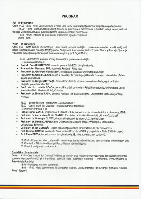 INVITATIA PROGRAM CONFERINTA ISTORIE NEAMT0003