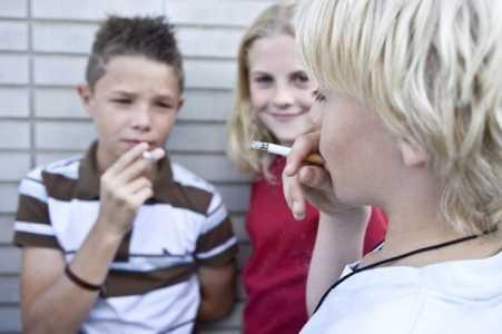 copii fumatori