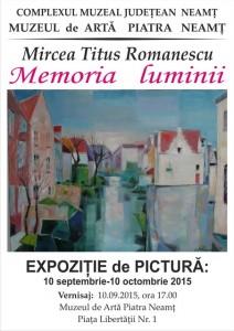 romanescu afis