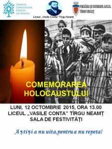 tg afis HOLOCAUST 2015