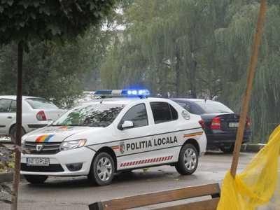 bicaz politie locala masina