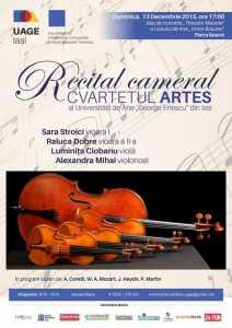 artes concert craciun