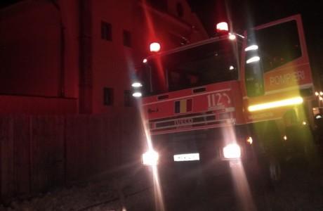 pompieri noaptea