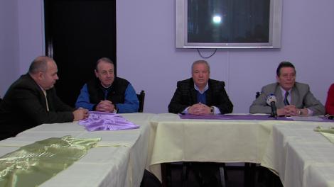Gheorghe Paisa, Dan Valentin, Vasile Ouatu si Constantin  Nita, de la stanga, la dreapta