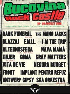 bucovina rock castle 2016 afis