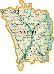 vaslui harta