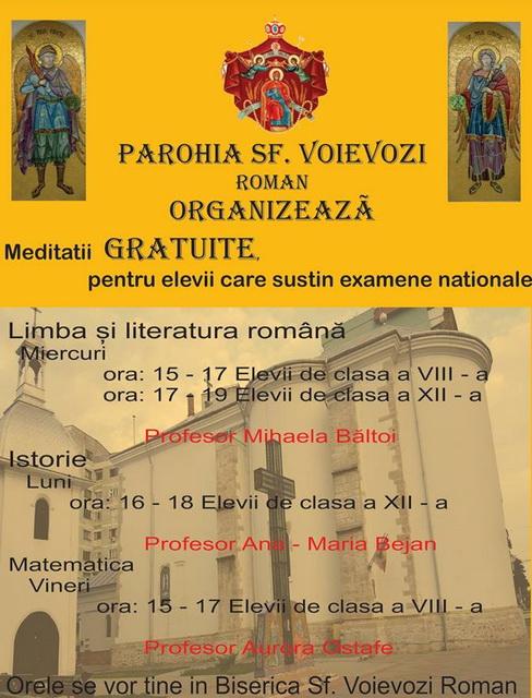 roman meditatii biserica