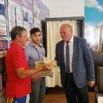 Campionul european Mihai Mihuţ premiat de Consiliul Local